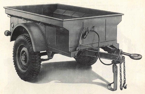Jeep Trailer Bantam Willys