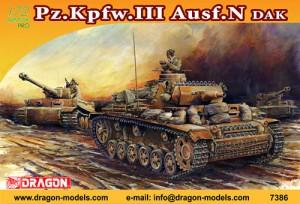 Pz Kpfz III Ausf N DAK Dragon