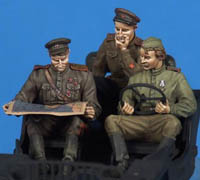 Resin WW2 Model Figures