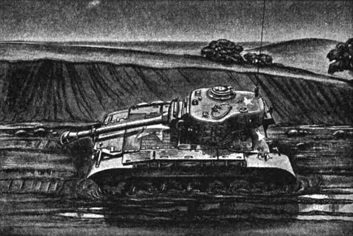 Tank Stuck in the Mud