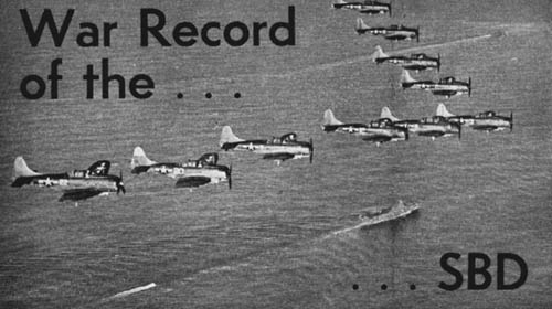 War Record of the SBD Dauntless Dive Bomber
