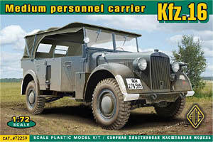 Medium Personnel Carrier Kfz. 16 Wehrmacht