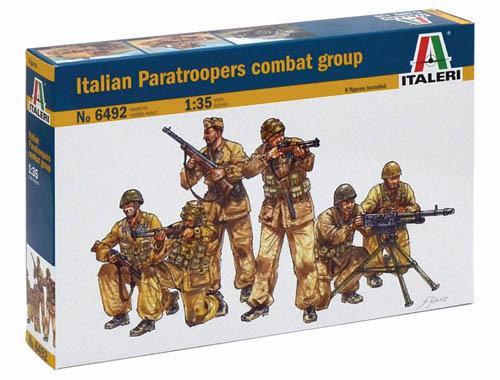 Italeri 6492 Italian Paratroopers Combat Group