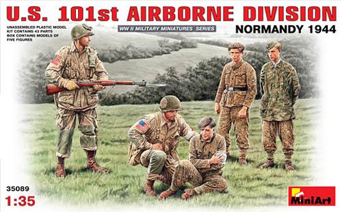 Miniart 35089 U.S. 101st Airborne Division Normandy 1944