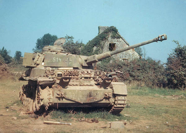 Panzer Lehr Division Panzer IV in Normandy, 1944, WWII