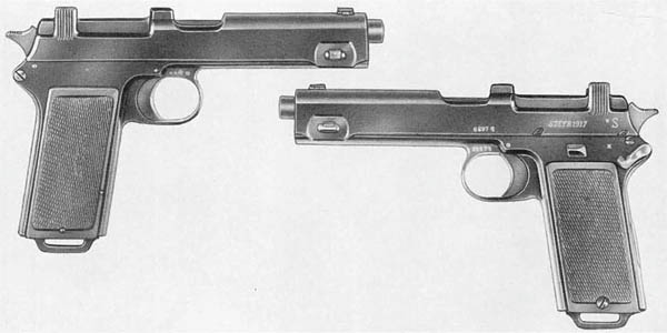 Austrian 9mm M1912 Steyr Pistol