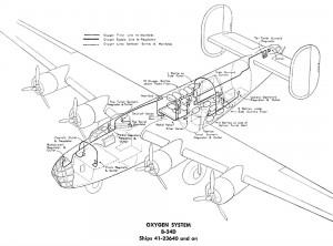 B-24D Oxygen System