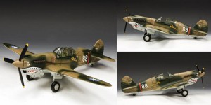 Flying Tigers P-40 with Sharks Teeth by King and Country