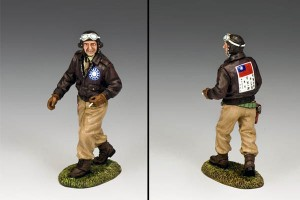 Flying Tigers Pilot by King and Country Toy Soldiers