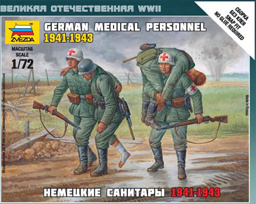 WWII German Medical Personnel 1941-1943