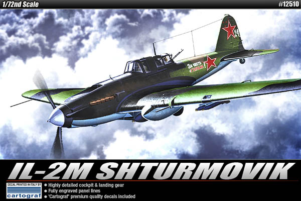 IL-2M Shturmovik Ground-Attack Aircraft