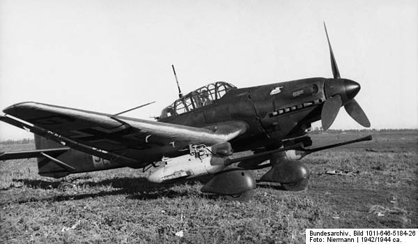 Ju87 G2 Kanonenvogel Bordkanone BK 37mm Antitank Guns