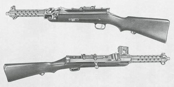 MP34 Submachine Gun Austria Steyr