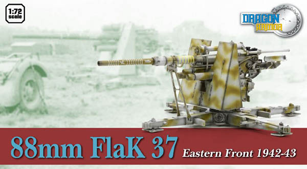88mm FlaK 37 Eastern Front 1942-1943 Dragon Armor