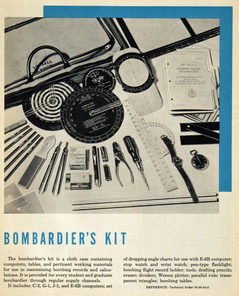 Bombardier's Kit and Tools