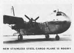 Budd RB Conestoga Stainless Steel Navy Cargo Transport