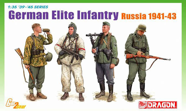 German Elite Infantry Russia 1941-1943 by Dragon