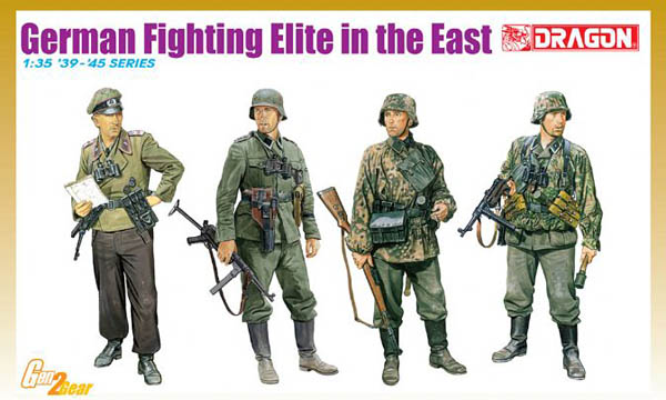 1/35 German Fighting Elite in the East by Dragon