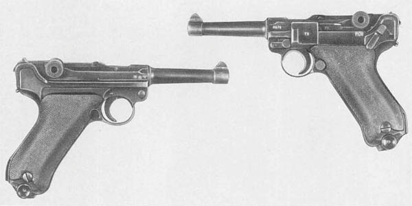 German Luger Pistol P08