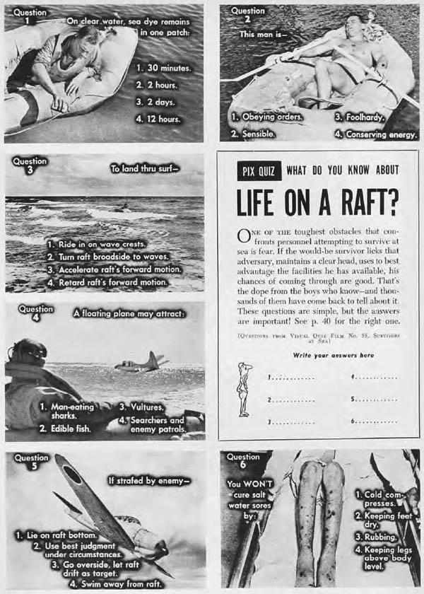 Life on a Raft