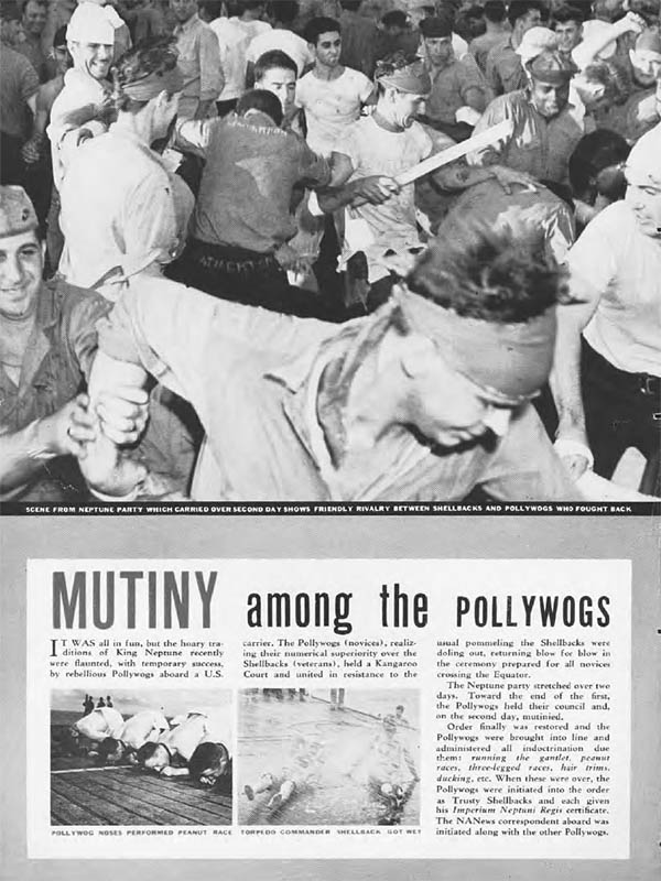 Mutiny among the Pollywogs
