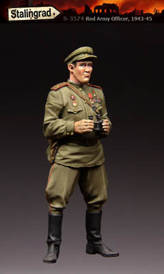 WW2 Red Army Officer 3574-1