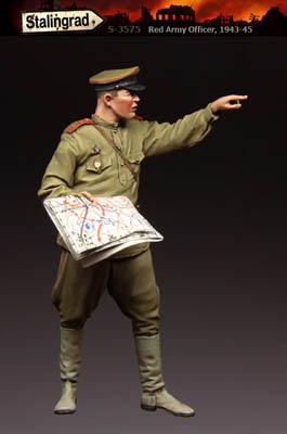 Stalingrad Red Army Officer WWII 3575-1