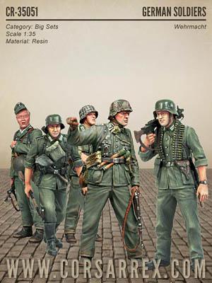 Corsar Rex German Soldiers Wehrmacht