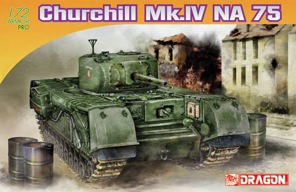 #7507 Churchill Mk. IV NA 75, 1:72 Scale