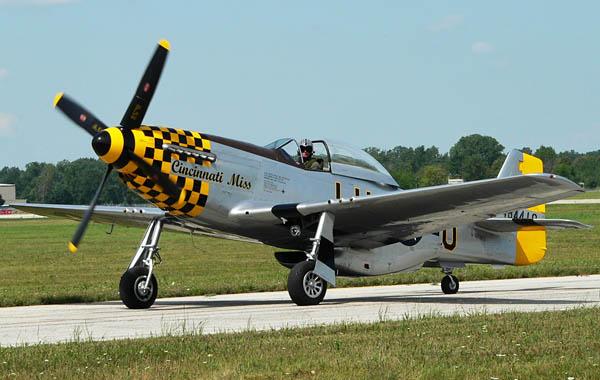 Cincinnati Miss, P-51 Mustang