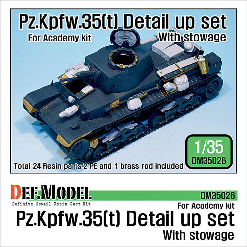 DEF Model DM35026 Panzer 35(t) Update Kit