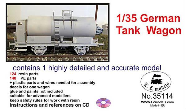 1/35 German Tank Wagon