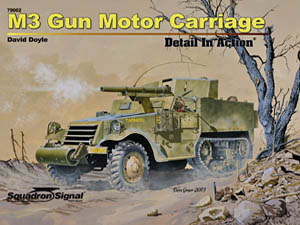SS 79002: M3 Gun Motor Carriage Detail in Action