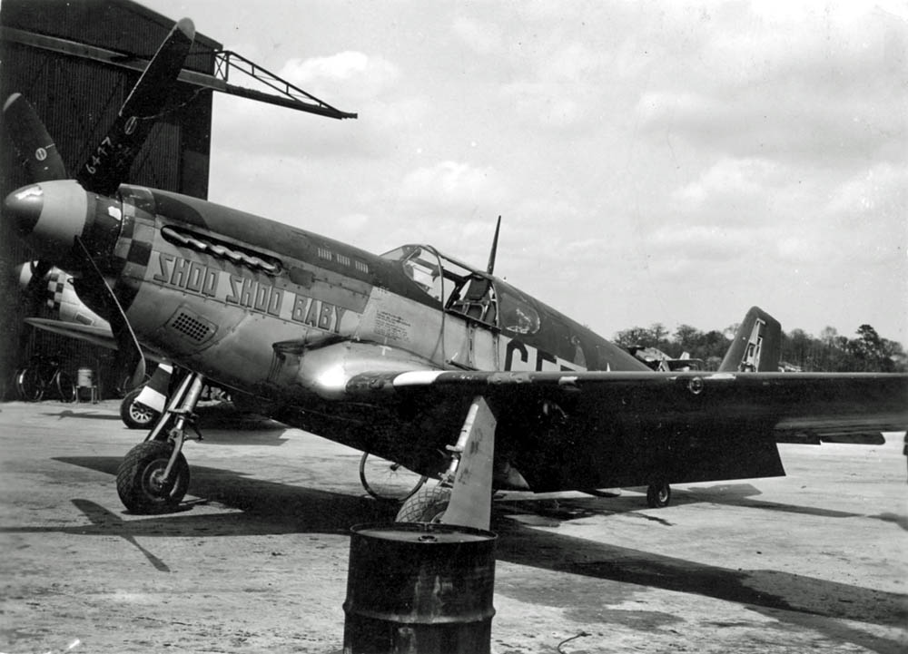 North American P-51B 'Shoo Shoo Baby' of 357th Fighter Group