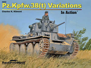 SS 52052:  Pz.Kpfw.38(t) Variations In Action