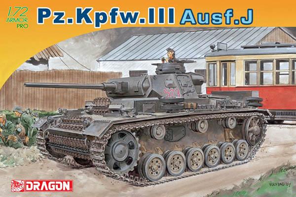Dragon #7372: 1/72nd Pz.Kpfw.III Ausf.J (Armor Pro)