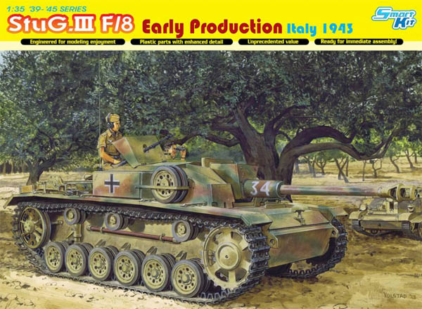 #6620: StuG. III F/8 Early Production Italy 1943