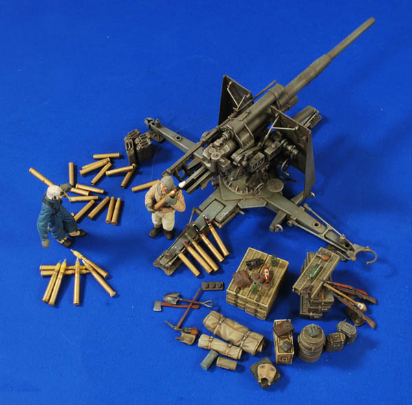 #2769: 88mm Flak/Pak Crew-Ammo-Gear 1:35 Scale
