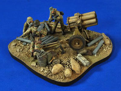 #2766: Nebelwerfer Base-Ammo-Crew-Gear 1:35 Scale