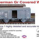 German Covered Rail Wagon