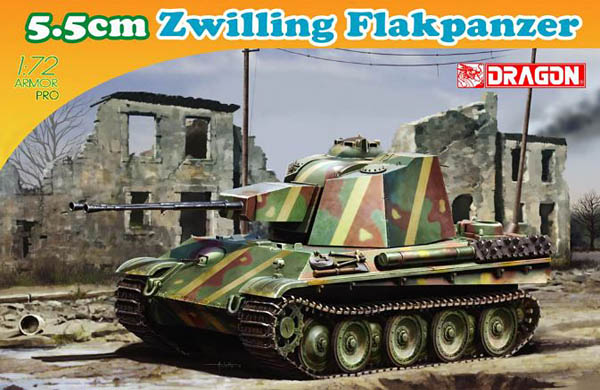 1/72nd 5.5cm Zwilling Flakpanzer (Armor Pro)