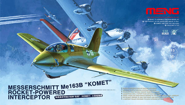 Meng Me 163B Komet Rocket Fighter