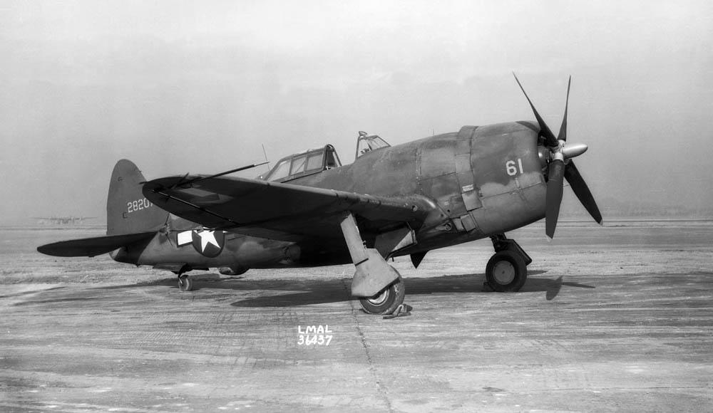 NACA P-47 Thunderbolt