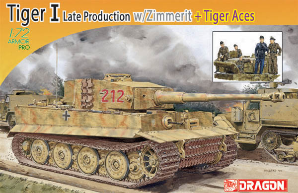 Tiger 212 Wittmann at Villers-Bocage
