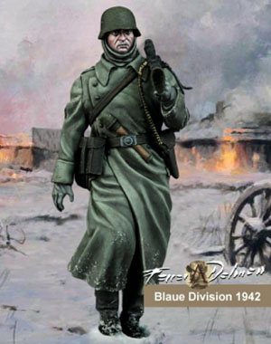 Blaue Division 1942 Figure by Scale 75