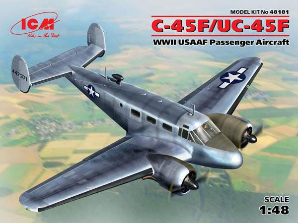 Kit No. 48181 - 1:48 C-45F/UC-45F, WWII USAAF Passenger Aircraft