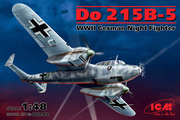 No. 48242—1:48 Do 215B-5, WWII German Night Fighter