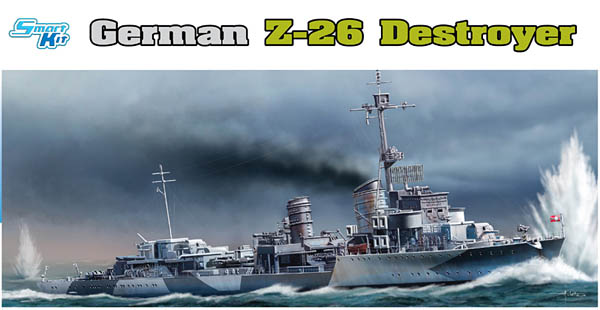 German Z-26 Destroyer