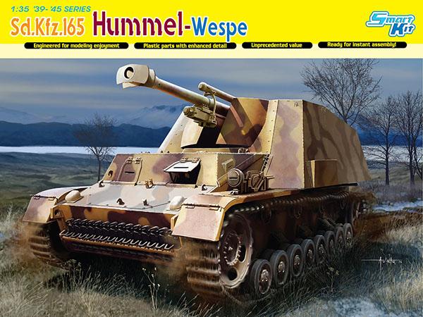 hummel-wespe-sdkfz-165-dragon