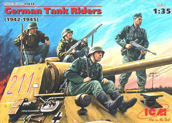 ICM German Tank Riders